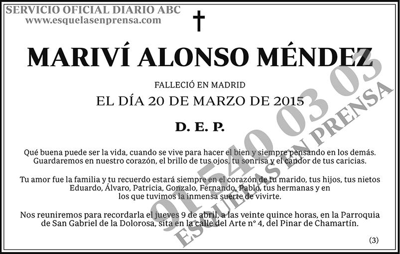 Mariví Alonso Méndez